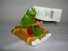 Kermit Collection Jim Henson Frog on Raft Muppets Show with Quitsch Noise