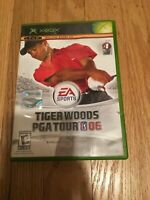 EA SPORTS TIGER WOODS PGA TOUR 06- XBOX - WORKS ON 360 - W/MANUAL - FREE S/H (M)