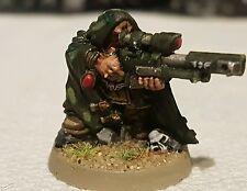 WARHAMMER 40k guardia imperiale / ASTRA militarium METAL pro-painted ratling SNIPER