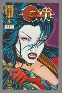 1994 SHI The Way of the Warrior #2 VF- 7.5 Billy Tucci / Crusade Comics