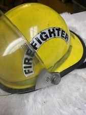 Bullard Fire Helmet FX Dated 1994 Firedome Fiberglass Faceshield Firefighter