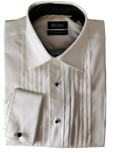"BNWT Rocola Limited Edition Formal Shirts Cotton Size 17/"" Collar"