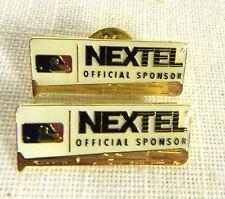 (2) Mlb Nextel Official Sponsor Pin Button Lot Aminco