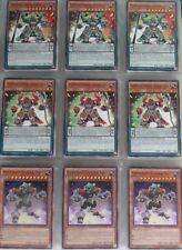 Yugioh card lot deck collection: Super heavy Samurai (59)
