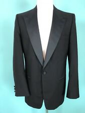 YvesSaintLaurent Black Tuxedo Jacket Size 41L