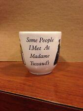 Madame Tussaud's Wax Museum Shotglass - Made In England Vintage