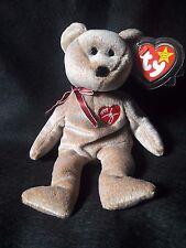Ty 1999 Signature Bear Beanie Baby - Retired. RARE