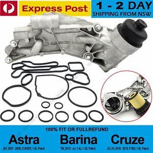 Oil Cooler Assembly & 15 pcs Seals Set For Holden Cruze JG JH Astra AH Barina TM