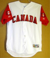 TEAM CANADA 2006 WORLD BASEBALL CLASSIC WHITE BUTTON-DOWN JERSEY