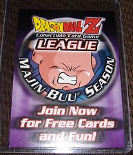 Dragonball Z / GT:Card: Speical Card Promo Card Buu Season