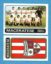 CALCIATORI PANINI 1972-73-Figurina-Sticker n. 511 - MACERATESE + SCUDETTO -Rec