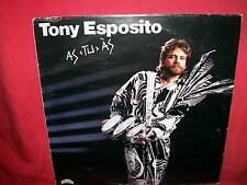 TONI ESPOSITO As Tu As LP 1985 ITALY EX+ Funk Disco Jazz Prog