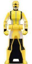 Power Rangers Sentai Legend Mini Key Figure Go-buster Yellow Rabbit Ranger