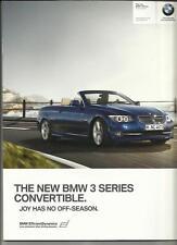 + + RIDUZIONE + + BMW SERIE 3 AUTO CONVERTIBILE opuscolo 2011 2012