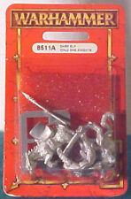 Warhammer Dark Elf Cold One Knights (8511A)--Factory Sealed Blister Pack