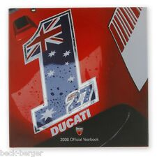 Ducati Corse Jahrbuch Libro Annuario 2008 Moto Gp Superbike Bayliss Stoner Nuovo