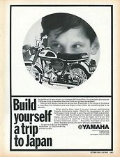 1969 Yamaha 350 Grand Prix 1/8 Revell Model Motorcycle Build A Trip To Japan Ad