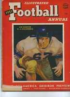 1951 Football Annual Les Richter California  MBX4