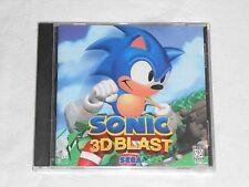 NEW Sonic 3D Blast PC Game FACTORY SEALED Computer Windows 95 the hedgehog Sega