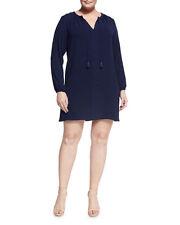 Michael Michael Kors Beautiful Luxe Black Shift Dress Size M (14 AU)