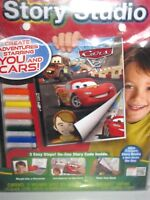Crayola Story Studio Cars 2 Create Three Complete Story Books Disney Pixar 6+