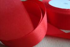 ** Satin Ribbon, Red Colour 25mm x 3 Mtres**