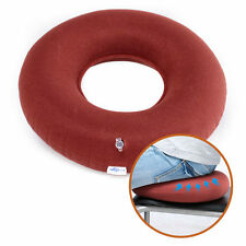 Medical Inflatable Seat Cushion Ring Donut Pump Anti Hemorrhoid Home Office