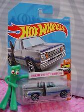 1978 Dodge Li'L Red Express Truck #55 ✰New Silver✰✰2019 i Hot Wheels case H/J