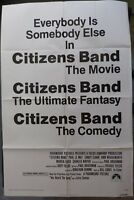 Citizens Band Movie Poster,Año 1977,1 Sheet,Original,Paramount pictures