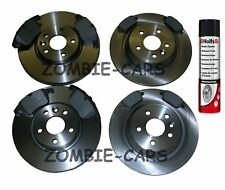 Ford S-Max 1.8 2.0 2.2 TDCi 2006-2013 Front & Rear Brake Discs & Pads Set
