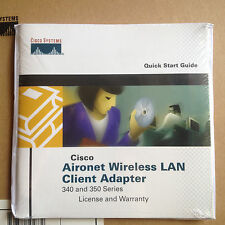 Cisco Aironet 350 PCMCIA Wireless WiFi 802.11B Card Adapter 11Mbps air-pcm352