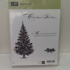 Stampin Up set NEW Retired Special Season Christmas Rubber Stamps