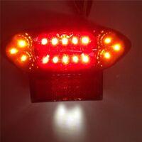 For Brake Tail lights For GSX1300R Hayabusa Katana GSX 600 750 GSX750F Clear LED