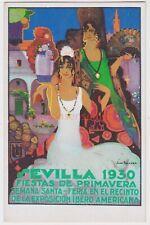 SPAIN SEVILLA FIESTAS DE PRIMAVERA EXPOSICION IBERO AMERICANA Advert 1930 - SP07