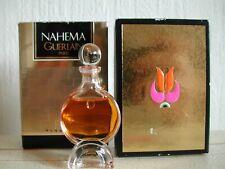 VINTAGE VERY RARE GUERLAIN NAHEMA PURE 7,5 ML PERFUME BOTTLE MIB PARFUM
