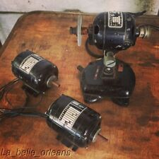 LOT OF 3 BODINE ELECTRIC GEARMOTORS ALL WORKING! TWO NCI-13 AND ONE CL-2 W/BASE