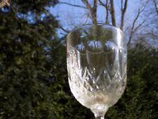 4 VERRES CISELES 19 ème  DE TRES BONNE FATURE verres en cristal
