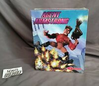 Agent Armstrong Original Virgin Interactive Interplay PC Big Box Game - SEALED