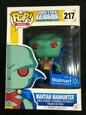 Martian Manhunter Justice League Walmart Excl #217 Funko Pop Vinyl Figure NIB