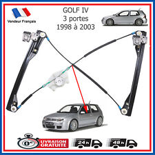 Mécanisme Leve Vitre Avant Gauche Volkswagen Golf 4 - 3 portes = 1J3837461F