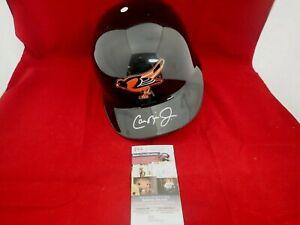Cal Ripken Jr. Signed Auto Orioles Authentic F/S Batting Helmet  JSA NN91095
