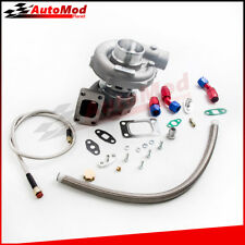 T3/T4 T04E TURB0CHARGER TURBO+OIL RETURN+FEED FOR MAZDASPEED 3 6 PROTEGE 5 323