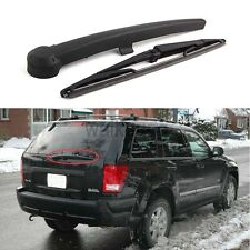 Rear Window Windshield Wiper Arm & Blade Set For Jeep Grand Cherokee 2005-2010