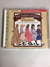 The American Girls Premiere 2 Cd Windows Mac Cd-Rom