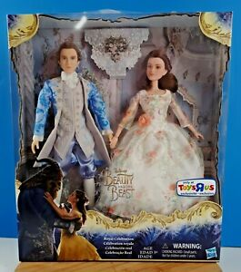 Disney Beauty and the Beast Royal Celebration Dolls Toys R Us Exclusive 12""