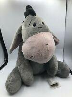 Hong Kong Disneyland Grey Eeyore Donkey Winnie The Pooh Disney Plush Stuffed Toy