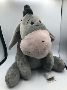 Hong Kong Disneyland Grey Eeyore Donkey Winnie The Pooh Disney Plush Stuffed Toy