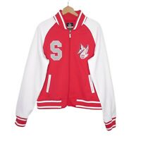 Sydney Swans First 18 Womens Varsity Jacket Size 20 Red/WhiteAFL
