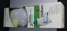 New Wii Fit Balance Board Travel - White & Green Storage Case w/ Shoulder Strap