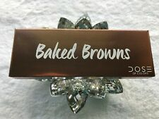 Dose of Colors BAKED BROWNS Eyeshadow Palette 5x 1.7g/0.06 oz 5 colors.